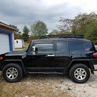 Black jeep window tinted Benton, AR