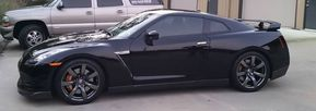 New Skyline tinted by Benton window tinting in little rock AR